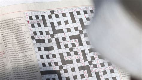 Newspaper Section Crossword by Sharpen Your Pencils For The Largest Crossword Puzzle In