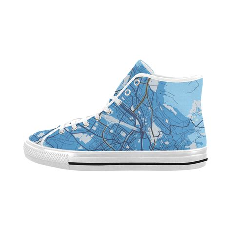 shoes vancouver map of zurich blue vancouver high top canvas s shoes