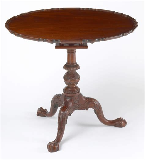 Tea Table andersen stauffer furniture makers tables tilghman family tea table