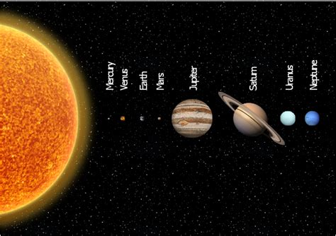 solar system planets illustration software and