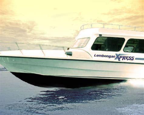 ferry nusa penida kuta lembongan express from sanur to lembongan island