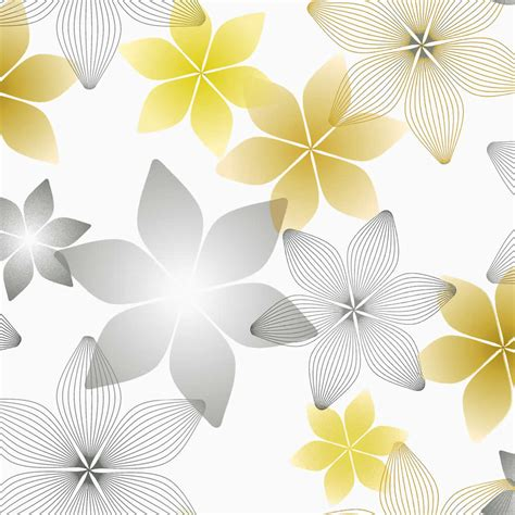yellow patterned roller blinds yellow gold grey white geometric floral patterned