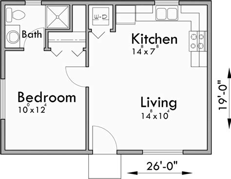 small house plans studio house plans  bedroom house plans