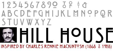 hill house font rennie mackintosh font related keywords rennie mackintosh font long tail keywords