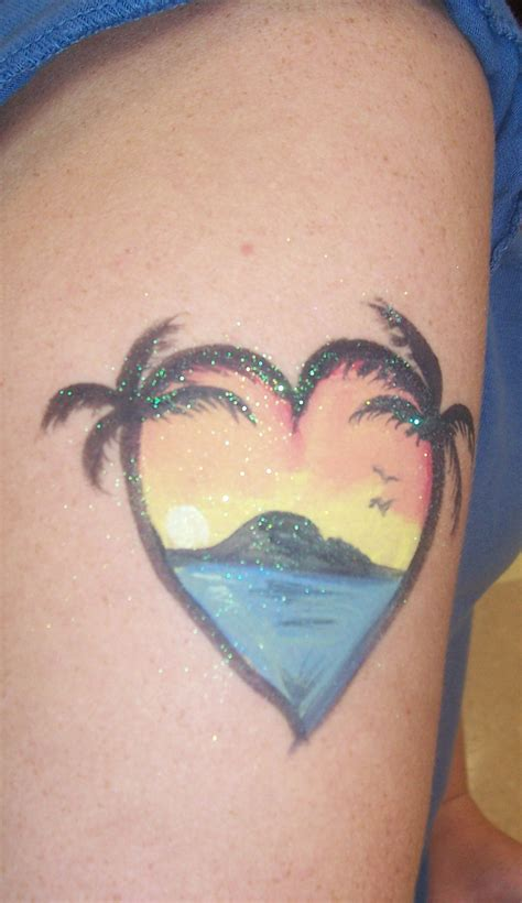 palm tree sunset tattoo designs palm tree palm tree sunset