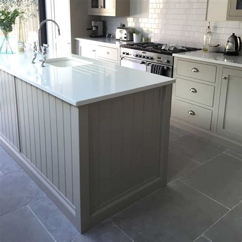 gray kitchen floor limestone is proving more and more popular for a kitchen floor