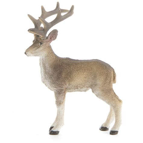 miniature standing reindeer table decor christmas and