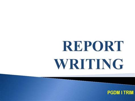 Report Writing Concepts For Enforcement by Insurance Company Insurance Company Grants For Enforcement