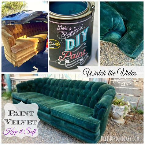 chalk paint velvet chair hometalk how to paint upholstery and keep the fabric