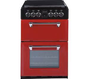 Red Small Kitchen Appliances - buy stoves richmond 550e electric ceramic cooker red free delivery currys