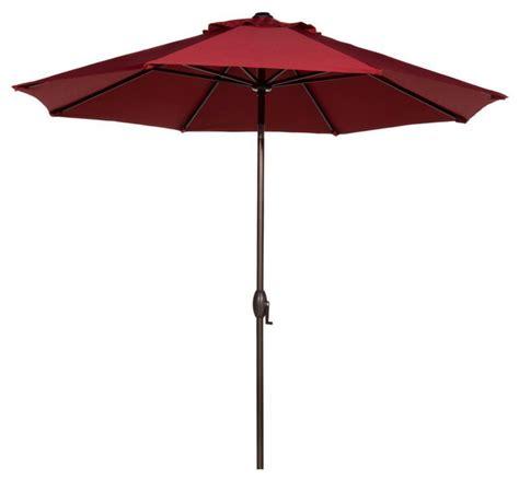 Abba Patio Abba Patio 9 Sunbrella Auto Tilt And Crank Patio Umbrellas Sunbrella