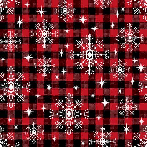 10 affordable buffalo plaid christmas decor on a budget buffalo plaid snowflakes winter christmas fabric