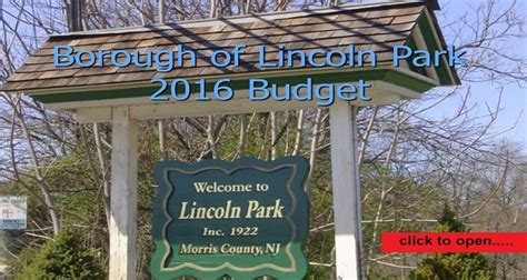 lincoln official website lincoln park nj official website official website