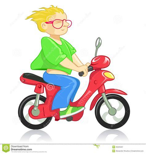 Motorrad Fahren Clipart by Drive Motorcycle Stock Vector Illustration Of Speed