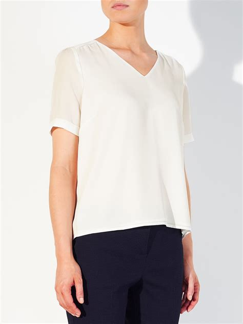 Lewis Tie Neck Blouse by Lewis Sleeve Blouses Mexican Blouse