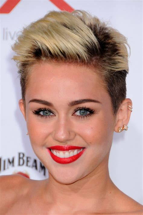views of miley cyrus hair cut 100 celebrity short hairstyles for women pretty designs