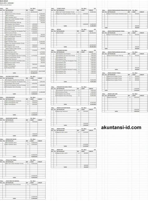 gambar format buku besar buku besar akuntansi perusahaan jasa akuntansi id