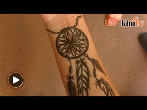 henna tattoo youtube muslims warned against dreamcatcher henna tattoos