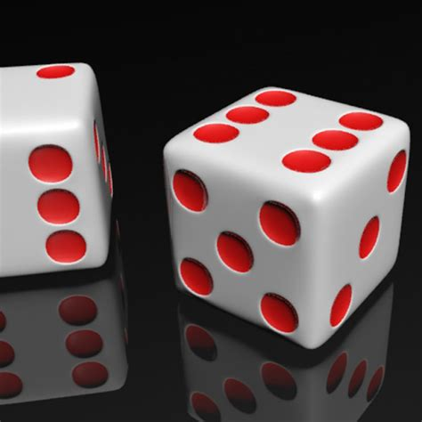 Max Dotted 3 dotted dice 3d model max 3ds cgtrader