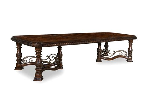 Trestle Dining Room Tables Furniture Dining Room Trestle Dining Table 209221 2304 Merinos Home Furnishings