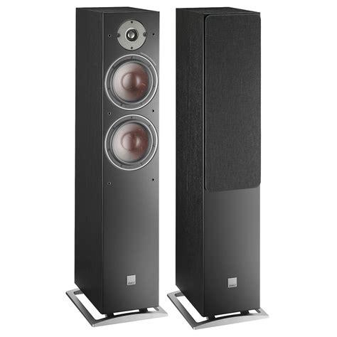 dali oberon  black ash floorstanding speakers pair