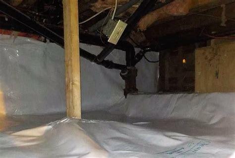 crawlspace and basement technologies crawl space repair in crawl space encapsulation