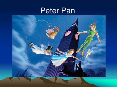what shoo does wendy mallick use peter pan by uwe teaching resources tes
