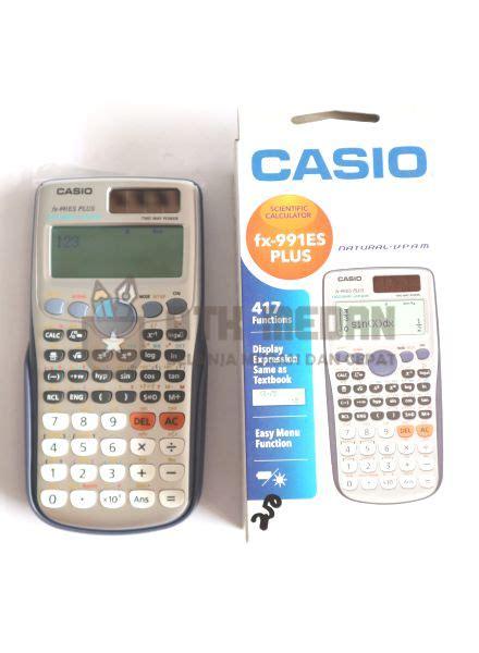 Paket Casio Hr 100tm Print Kalkulator Adaptor Diskon harga calculator casio fx 991 es di medan atk medan