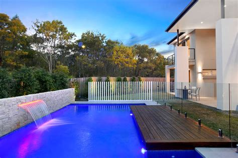 Modern pool design contemporary pool sydney by space landscape designs