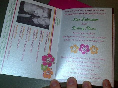 passport wedding invitation template free missbubbles diy passport invitations sle
