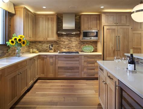 golden oak cabinets with wood floors brilliant golden oak cabinets with wood floor island