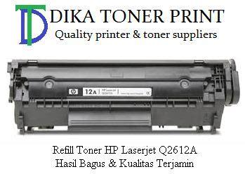 Toner Panasonic Berkualitas harga refill toner 12a q2612a hp laserjet murah berkualitas