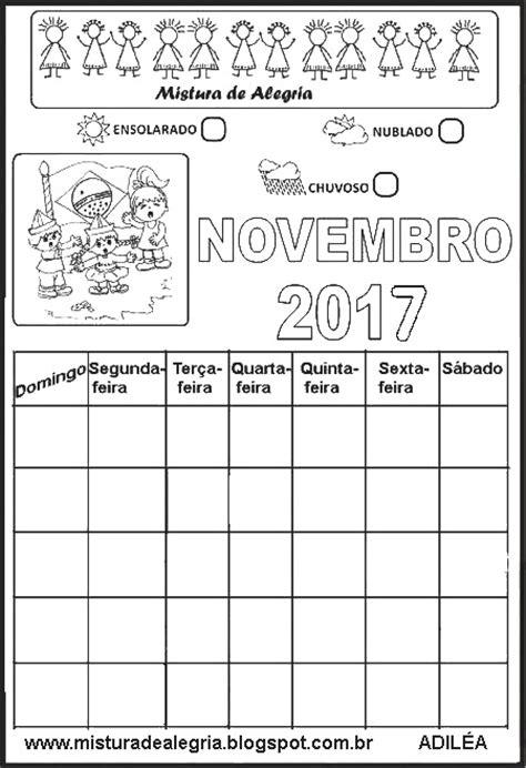 Calendario Html Calend 193 Rios De 2017 Para Imprimir Completar E Colorir