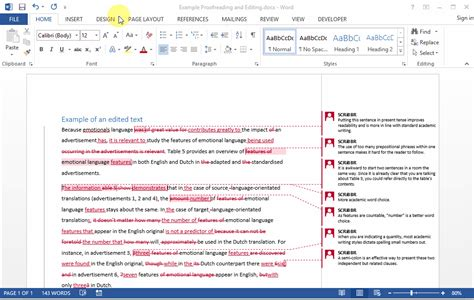Suivi De Modification Word Mac by Guide Process Changes Of The Editor