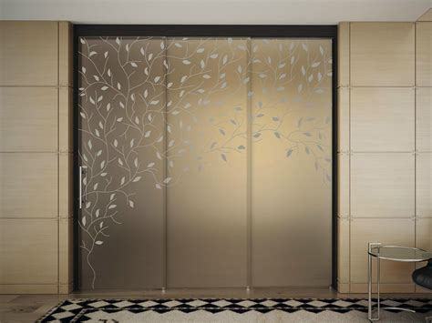Glass Sliding Door With Pelmet Sinthesy Light By Foa Door In Sliding Glass Door