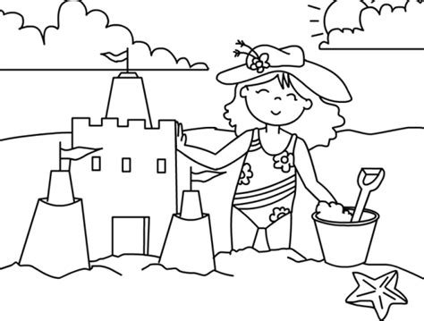 preschool vacation coloring pages holiday preschool coloring pages summer fun season