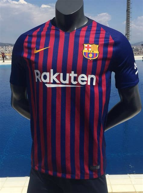 Barca Home New new barca jersey 2018 2019 nike fc barcelona home