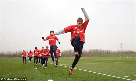 arsenal academy players exclusive step inside arsene wenger s talent factory as