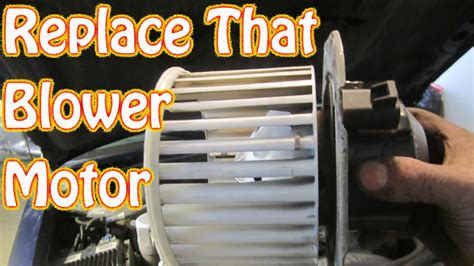 how to replace a blower motor on a diy how to replace a noisy heater ac blower motor on a chevy blazer s10 gmc jimmy youtube