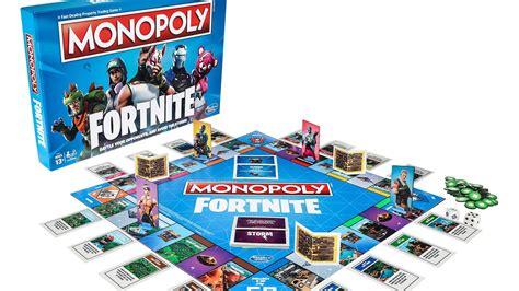 fortnite monopoly epic y hasbro lanzar 225 n el monopoly de fortnite