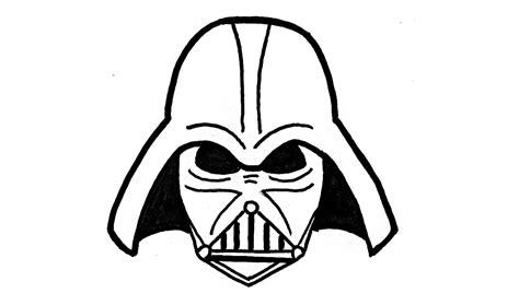 imagenes de star wars a lapiz como dibujar a darth vader de star wars paso a paso la
