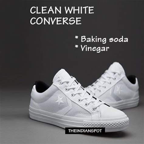 how to clean white converse canvas shoes theindianspot