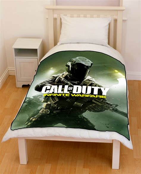 call of duty bedding and curtains call of duty infinite warfare bedding throw fleece blanket
