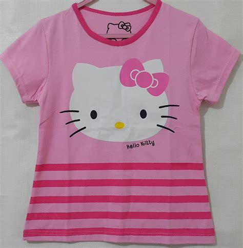 We37 Jaket Anak Hello Pink Rok kaos anak hello pink salur 1 6 grosir eceran baju anak murah berkualitas