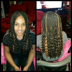 how to deal with straight end braids boxbraids with straight ends box braids pinterest