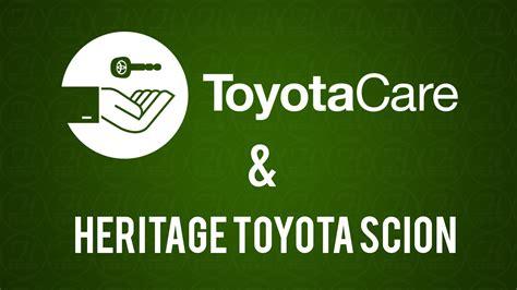 Heritage Toyota Toyotacare At Heritage Toyota Scion South Burlington Vt