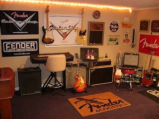 home guitar studio design transform your music collections into modern wall art my