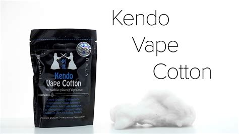 Kendo Cotton kendo vape cotton review
