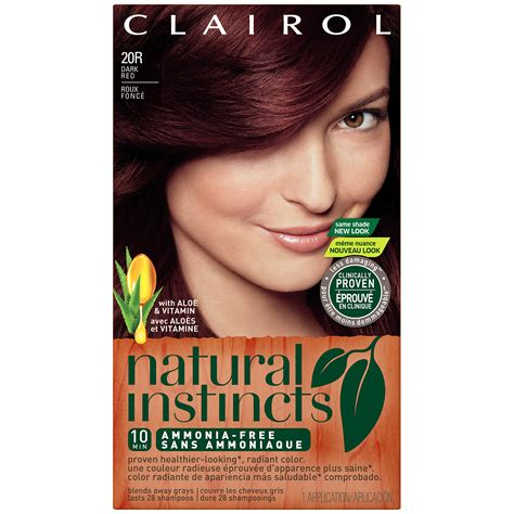 natural instincts hair color shades clairol nice n easy foam haircolor product review dark