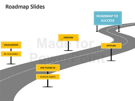 powerpoint roadmap analogy template editable slides